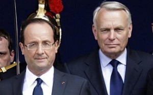cote popularite Hollande et Ayrault en baisse